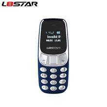 هاتف محمول صغير L8star BM10 بشريحتين مع مشغل MP3 FM هاتف محمول غير مقفول صوت تغيير الاتصال بالبلوتوث سماعة GSM