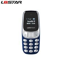 L8star BM10 mini telefon komórkowy podwójna karta Sim z odtwarzaczem MP3 FM odblokowany telefon komórkowy zmiana głosu bluetooth wybieranie słuchawki GSM