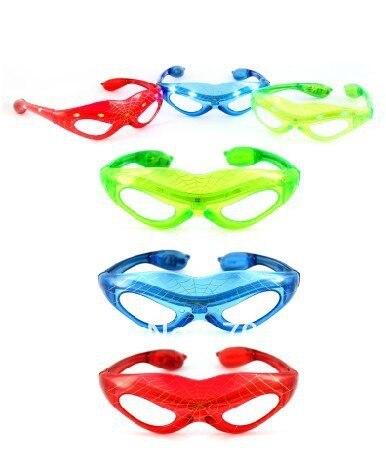 free shiping led spider man glasses/ led glasses/ LED mask glasses/ flashy mask