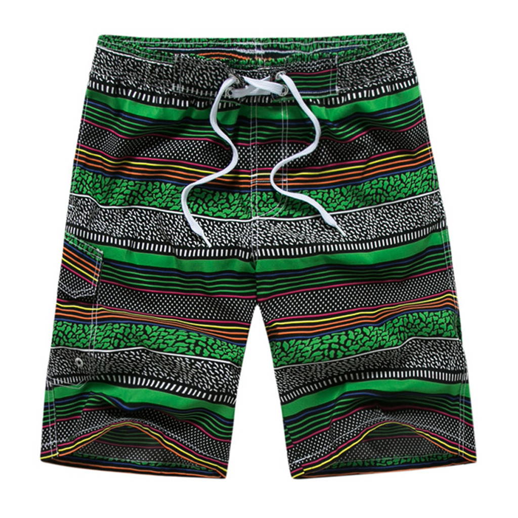 Men's Clothing Jaycosin 2019 Mens Fashion Short Pants Casual Printing Patchwork Beach Surfing Swimming Loose Dropshiping 19jun11