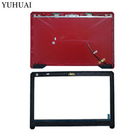 New laptop shell For ASUS FX80 FX504 LCD top Back Cover+Lcd Front Bezel Cover