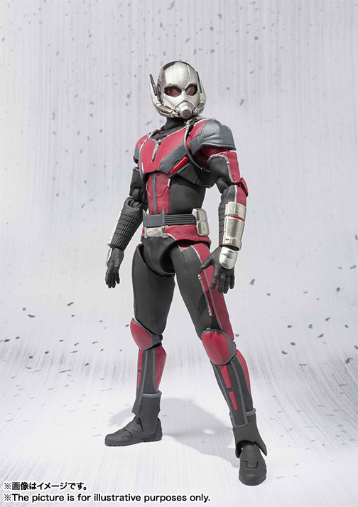 hot Captain America 3 Ant-Man SHF Figure 17CM PVC Collection Model Antman Toy For Gift shf figuarts shfiguarts captain america pvc action figure collectible model toy 16cm