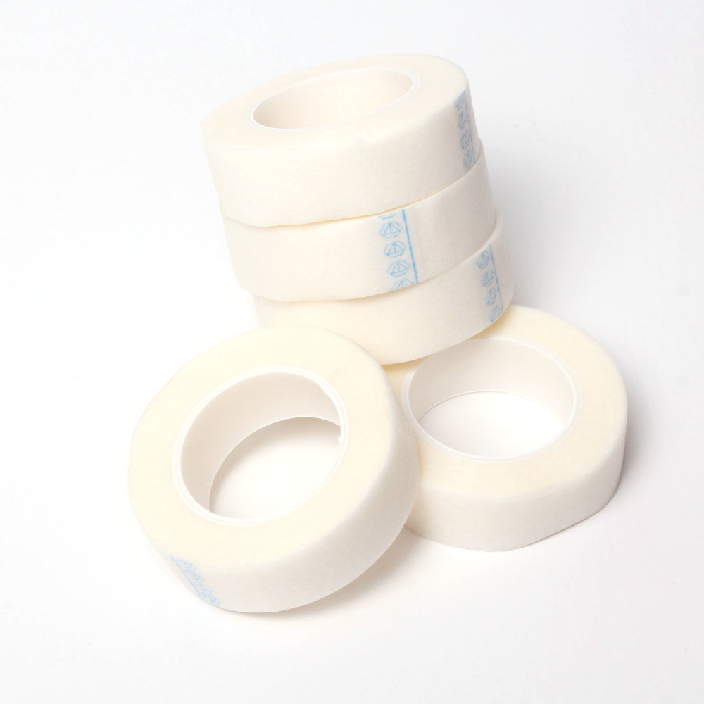 5rolls Professional Under Tape Eyelash Lash Individual Extension Supply Tools Medical Tape