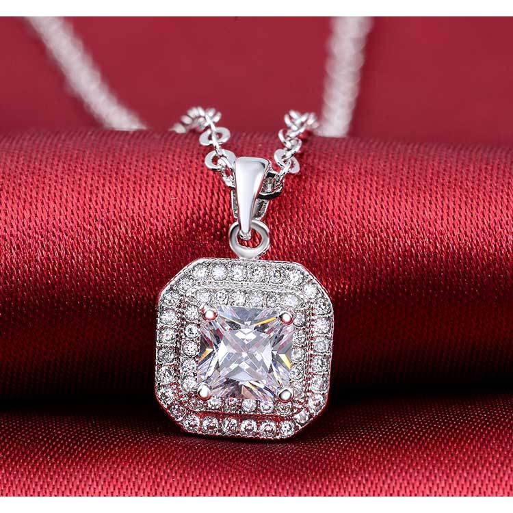 2019 new products 925 Sterling Silver Necklace & Pendant for women four colors Jewelry 2015 new x503