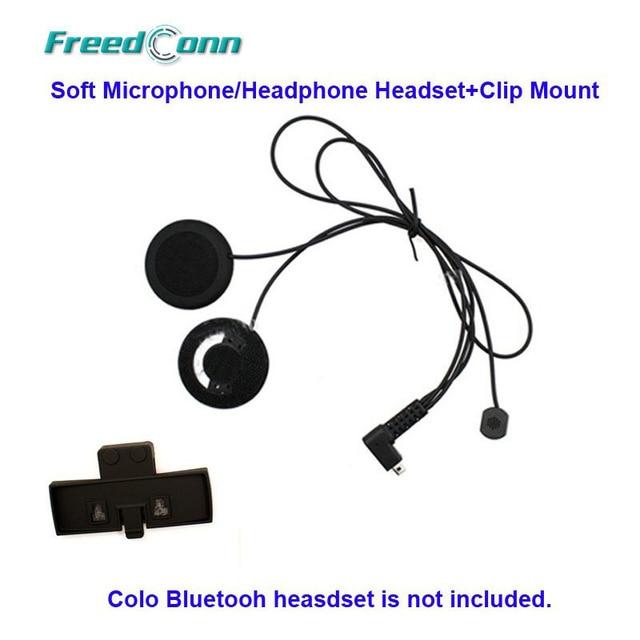 free shippingfreedconn colo motorcycle bluetooth helmet interphone intercom speaker soft headphone headset