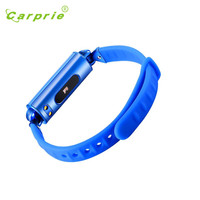 Carprie New 2017 New DB02 Bluetooth Smart Watch Bracelet Heart Rate Monitor For Android IOS 17May12
