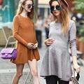 Весна основной одежды для беременных материнства платье цельный тонкий длинными рукавами основной d0781 цельный платье