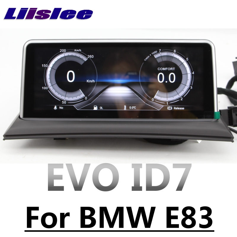 Für <font><b>BMW</b></font> <font><b>X3</b></font> <font><b>E83</b></font> 2003 ~ 2010 EVO ID7 CarPlay Adapter LiisLee Auto Multimedia GPS Karte 10,25