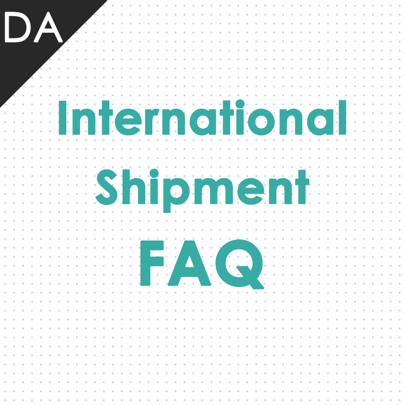 International Shipment FAQ