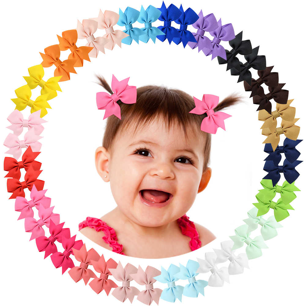 "1 Pcs Tiny 2 ""Windrad Haar Bögen Alligator Clips für Baby Gilrs Kleinkinder Kinder 811"