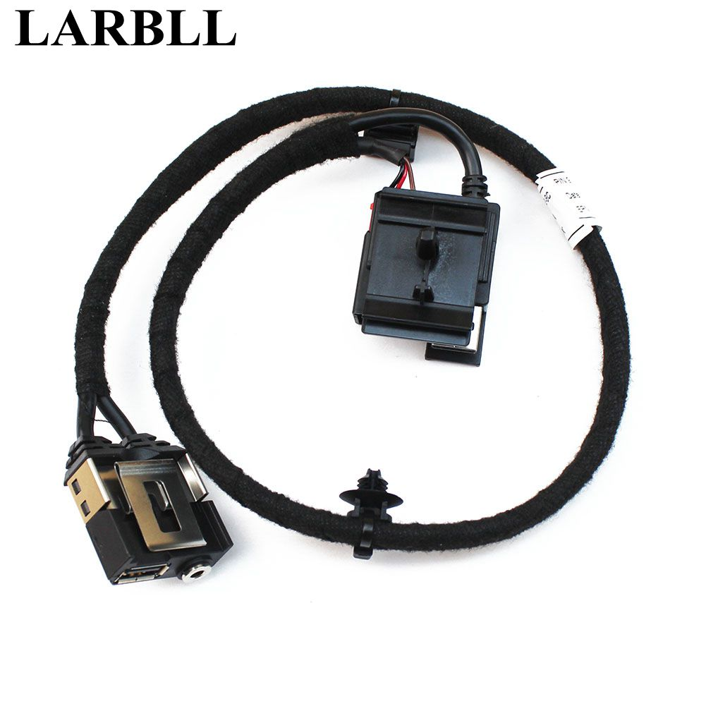 LARBLL Centre Armrest Box USB and AUX Interface Cable Charging Adapter For Ford Focus MK2 MK3 2009 2014