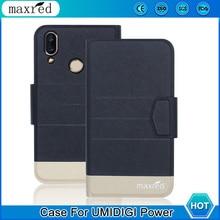 5 Colors!Power UMIDIGI Case Phone 2019 High Quality Flip Ultra-thin Luxury Leather Protective Case For UMIDIGI Power Cover Phone цена
