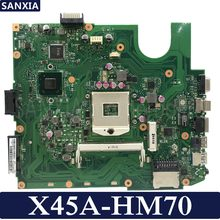 KEFU X45A Laptop motherboard for ASUS X45A Test original mainboard HM70 DDR3(China)