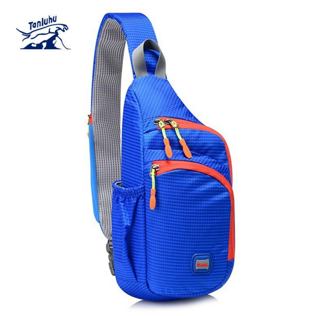 Chest Bag Outdoor Cycling Sling Bag Lightweight Waterproof Chest Sports Bag  Unisex Shoulder Backpack Packs Travel 5a2cfdfba0a37