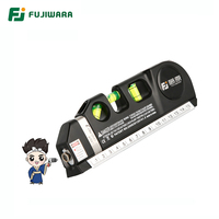 FUJIWARA Infrared Laser Line Projector Level Locator Multi-function Measuring Tools
