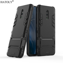 For Cover OPPO Reno Case Rubber Robot Armor Shell Funda Hard PC Back Phone Cover for OPPO Reno Protective Case for OPPO Reno цена