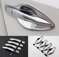 ACCESSORIES FIT FOR NISSAN QASHQAI J11 2014 2015 2016 CHROME DOOR HANDLE COVER BOWL CUP CAP TRIM INSERT BEZEL FRAME SMART KEY