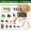 100 Original NEWEST Minipro TL866A USB Programmer 12 Items IC Adapters SOP8 Test Clip High Speed