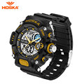 2017 Children Quartz Digital Watch Men Sports HOSKA Brand Relojes LED Rubber Strap Military Army Waterproof Wrist Watches HD031