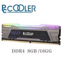 Pccooler 8GB 16gb PC Memoria RAM Memoria para computadora de escritorio de DDR4 PC4 8g 16g 2666Mhz 3000mHZ 3200Mhz DIMM 3000 RGB 3200