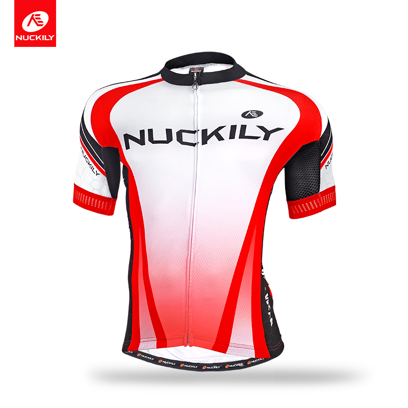 ФОТО Nuckily summer men 's cycling jersey Summer New Designs made with multi function features fabric  MA016