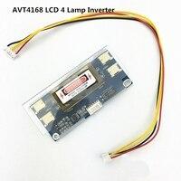 미니 desgin avt4168 PC LCD 모니터 CCFL 4 램프 10V-28V 범용 lcd 인버터