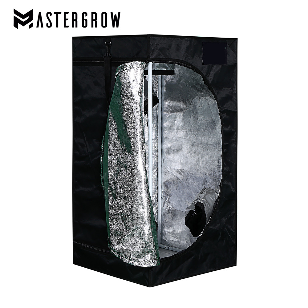 MasterGrow 50X50X100cm Indoor Hydroponics Grow Tent, Grow Room Plant Growing, Reflective Mylar Non Toxic Garden Greenhouses