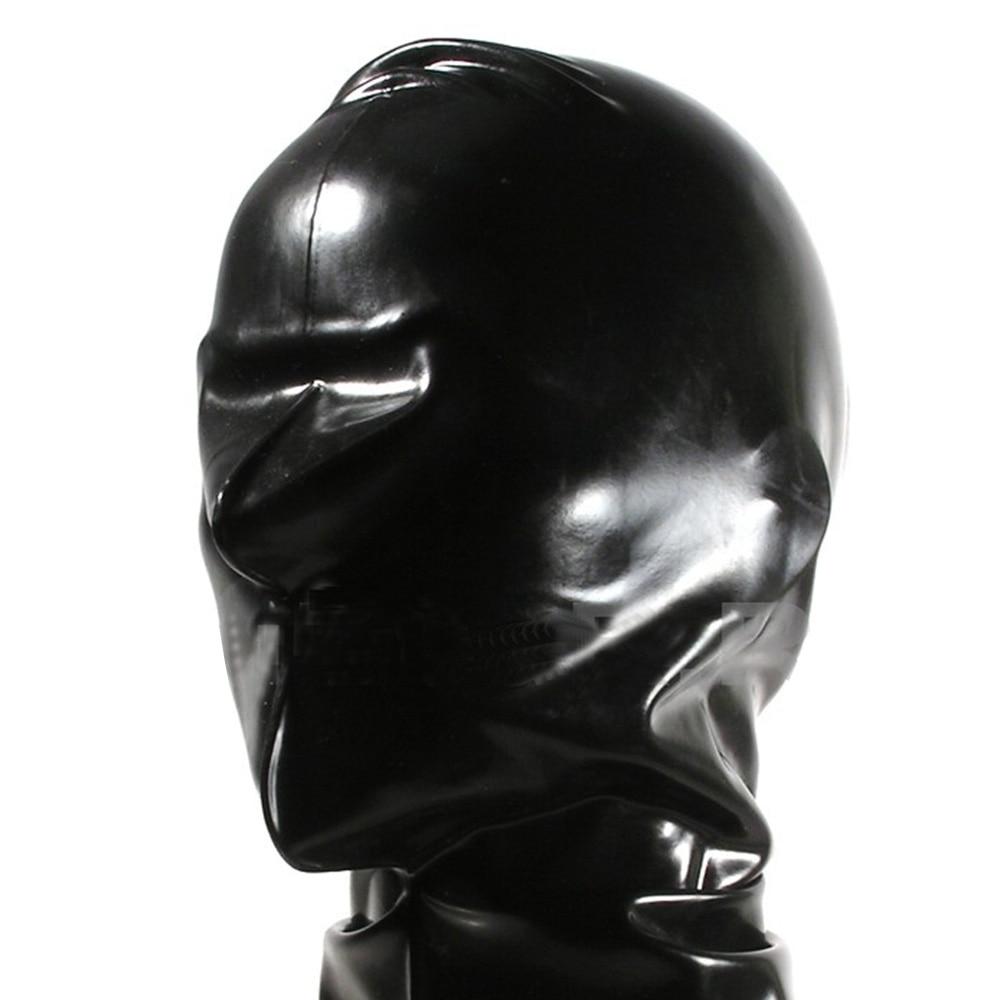 Latex masks fetish