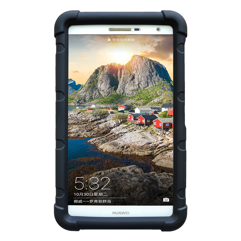 Cover For Huawei Mediapad T2 7.0 Silicone Soft Cover Case For Huawei T2 7.0 Pro PLE-701L PLE-703L Rugged Tablet Case