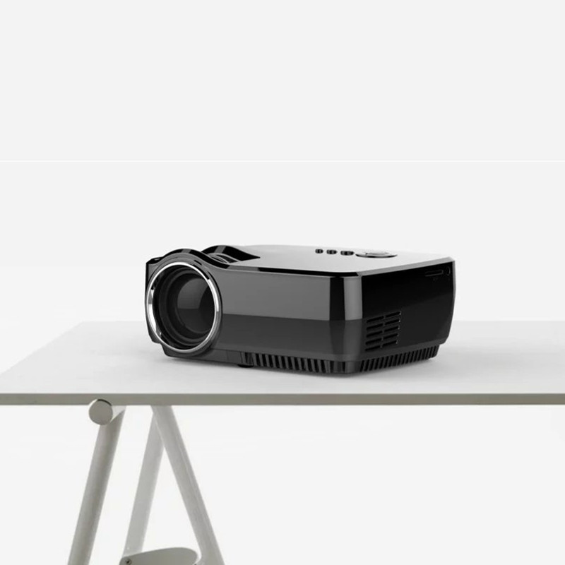 GP70 800 x 480 Pixels Full HD 1080P 1200 Lumens Mini LED Projector Home Theater Superior Decoding Private Cinema Projector