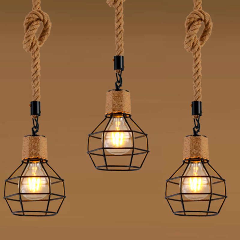 Metal lámpara Vintage de lámpara de colgante Industrial BdxQeoWrC