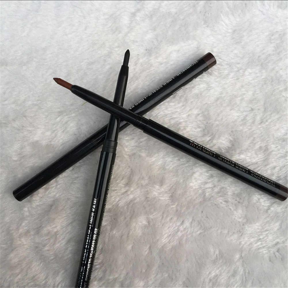 1PC アイライナーペン自動的に防水アイブローペンシル長期的なアイライナー鉛筆セット化粧ツール