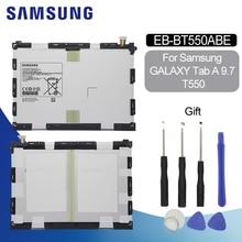 SAMSUNG Tablet Battery EB-BT550ABE For samsung Galaxy Tab A 9.7″ Battery SM-T550 SM-P550 SM-T555C SM-T555 SM-P351 6000mAh