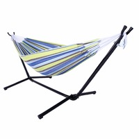 Polyester Outdoor Portable Hammock Set With Stand HOT SALE
