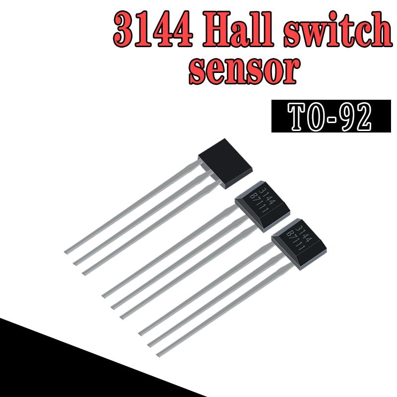 10pcs A3144 OH3144 Y3144 Hall Effect Sensor Brushless Electric Motor TO-92UA WAVGAT A3144EUA