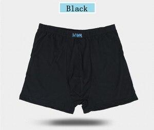 Image 4 - 5 قطعة/السلع الرجال الذكور سراويل بوكسر طويلة القطن سراويل داخلية رجالي حجم كبير 5XL 6XL 7XL 8XL under606 الدهون موضة مثير السيد الملابس الداخلية