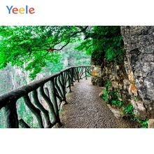 Yeele Tour Mountains Scenic Cliff Road Armrest Wedding Remember Photography Backgrounds Photographic Backdrops For Photo Studio 10x10ft 3x3m scenic muslin backgrounds photography photo studio backdrops hand painted flower muslin backdrop wedding