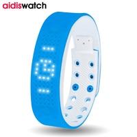 USB Smart Watch Silicone Belt Calorie Sports Watches LED Digital Smartwatch Fashion Kids Women Men Bracelet WristWatch Relojes