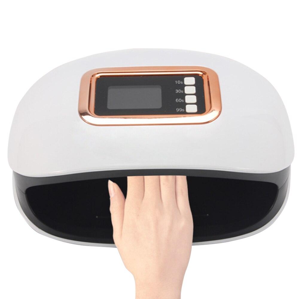 Sun H4 Plus 72 W ongle lampe UV professionnel haute puissance ongle Dyer manucure lampe de polymérisation lampe 36 LEDs UV capteur automatique affichage du temps