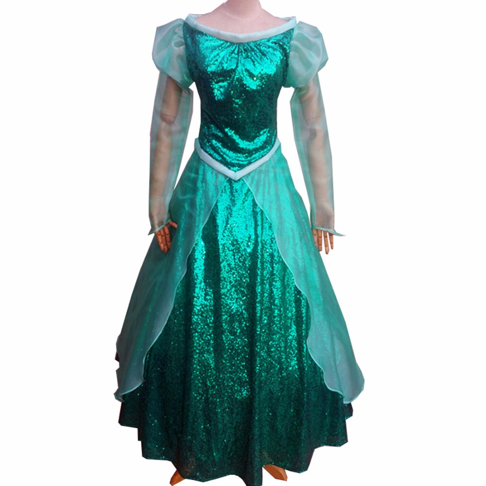 2018 The Little Mermaid Adult princess Ariel Cosplay Costume