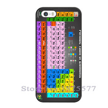 Chemical Chemistry College Periodic Tables Design Cover Case for iPhone 4 4S 5 5S 5C 6 6S Plus iPod Touch 5 Cases