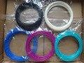 5 Cores caneta de impressão 3d filament ABS/PLA 1.75mm 10 metros/Cor Material plástico MakerBot Impressora 3D/RepRap/UP/Mendel