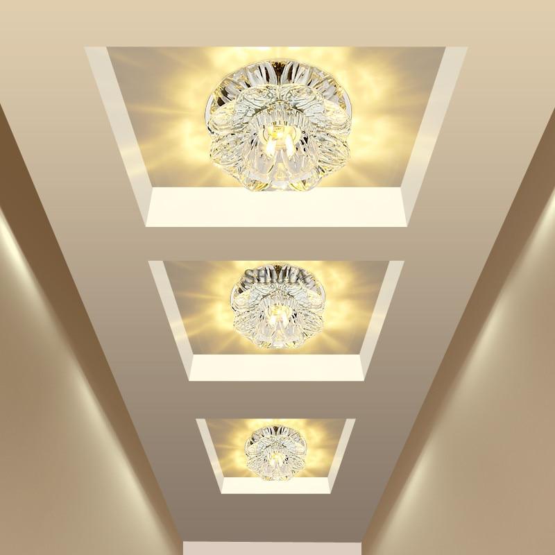 Corridor Mirror Ceiling Lamp Aisle Veranda Lighting Down