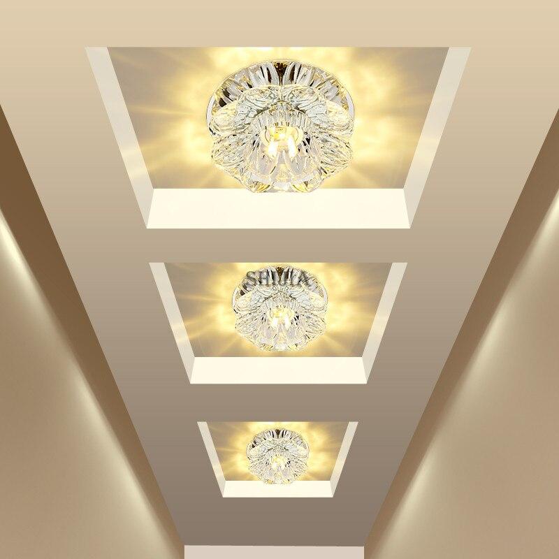 Luzes de Teto espelho corredor lâmpada do teto Fonte de Luz : Lâmpadas Led