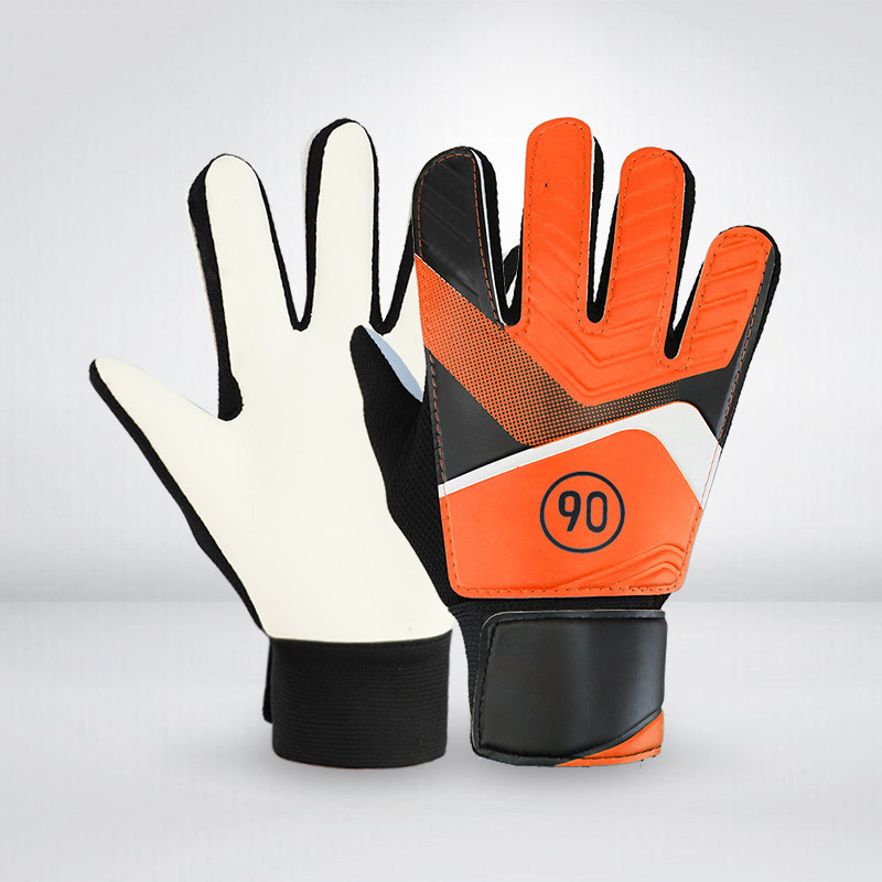 Hot Selling 1 Pair Full Finger Gloves Children Teens Anti Slip Hands Wrap For Football Goalkeeper