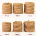 16mm-22mm 10m Fine Handmade Hemp Rope DIY Craft Supplies Decoration Cords Retro Jute Twine Thread for Gift Packing / Bags / Tag