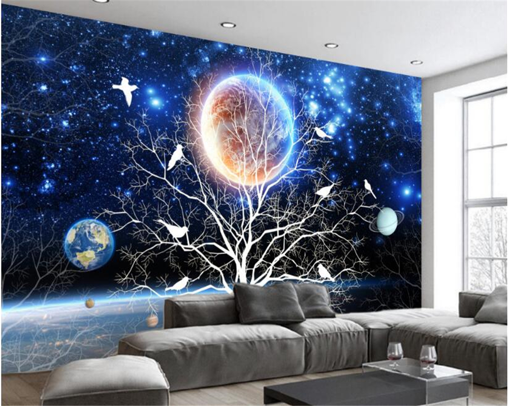 Tears Off Behang : Beibehang dream fashion classic silk cloth wall paper beautiful
