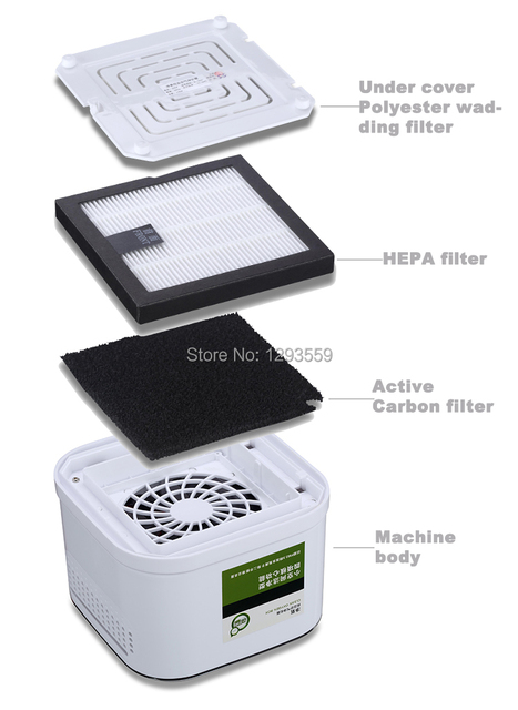 2015 new item mini air purifier for home best for child asthma sick
