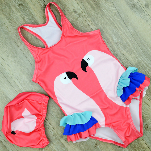 Cute Flamingo Swimsuit