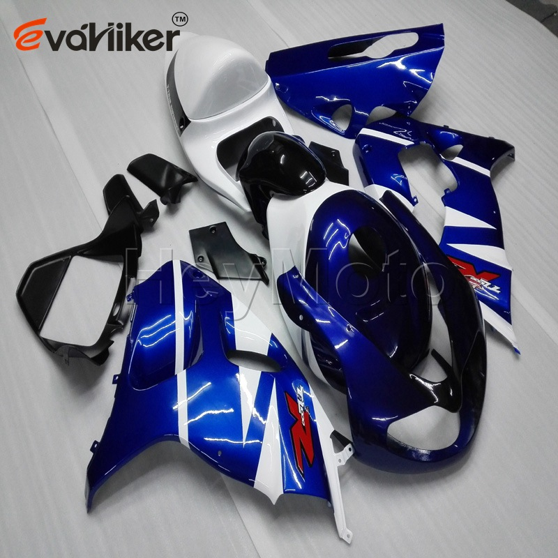 Custom Motorcycle Fairing For TL1000R 98-03 1998 1999 2000 2001 2002 2003+Unpainted Fairing+Gifts+blue White Black ABS H3